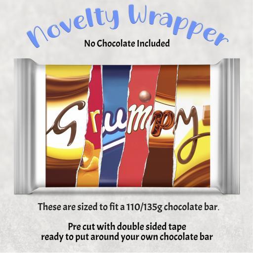 Grumpy Chocolate Bar Wrapper