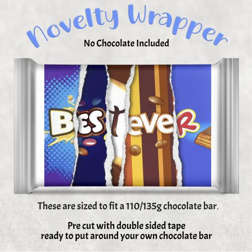 Best Ever Chocolate Bar Wrapper
