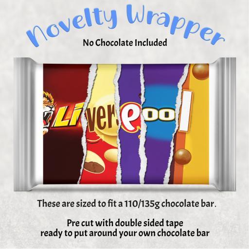 Liverpool Chocolate Bar Wrapper