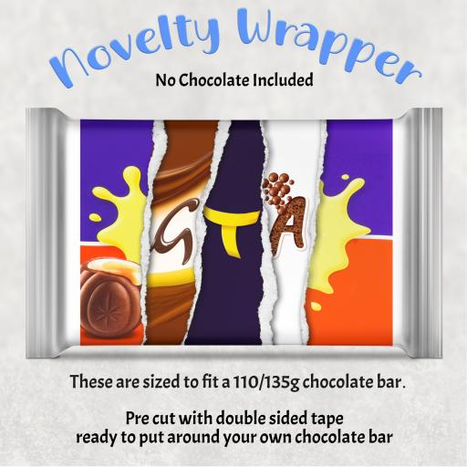 GTA Chocolate Bar Wrapper