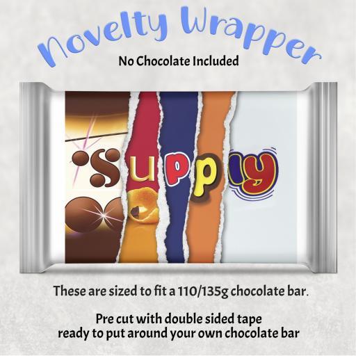 Supply Chocolate Bar Wrapper