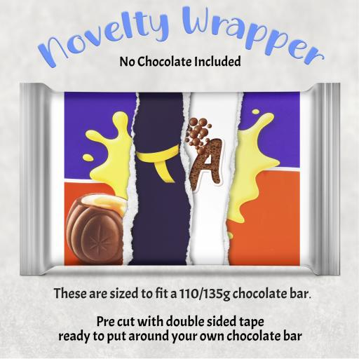 TA Chocolate Bar Wrapper