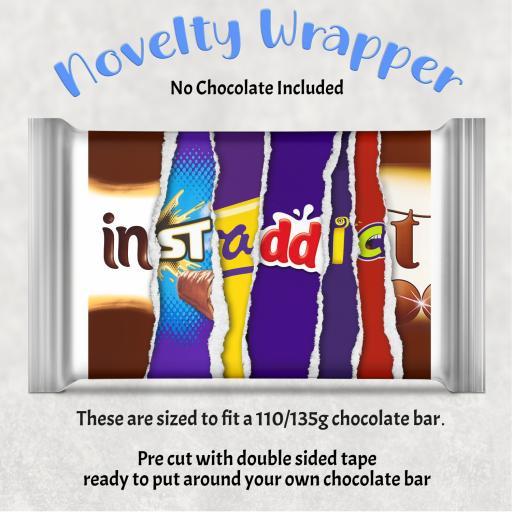 Instaddict Chocolate Bar Wrapper