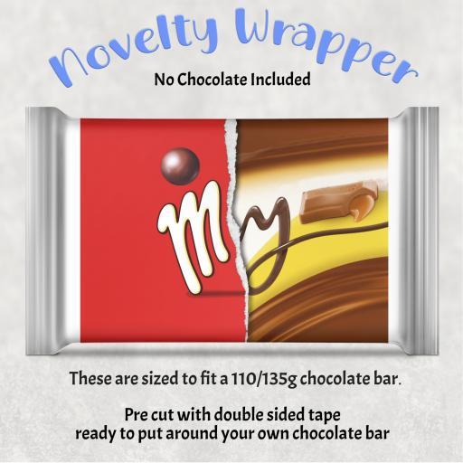 My Chocolate Bar Wrapper
