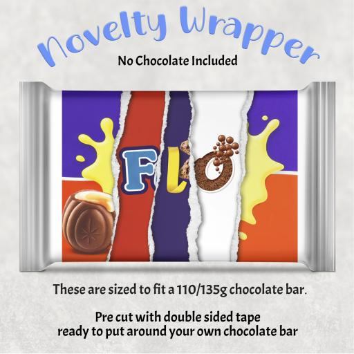FLO Chocolate Bar Wrapper