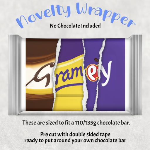 Grampy Chocolate Bar Wrapper
