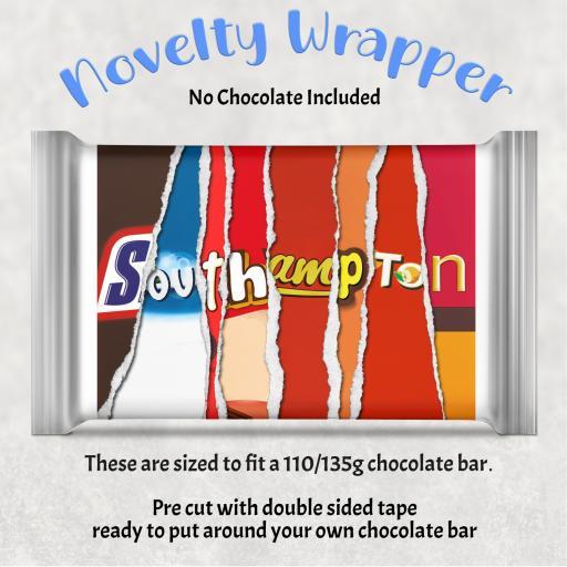 Southampton Chocolate Bar Wrapper