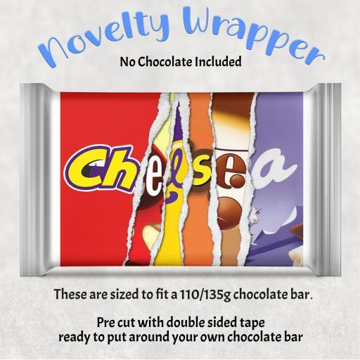 Chelsea Chocolate Bar Wrapper