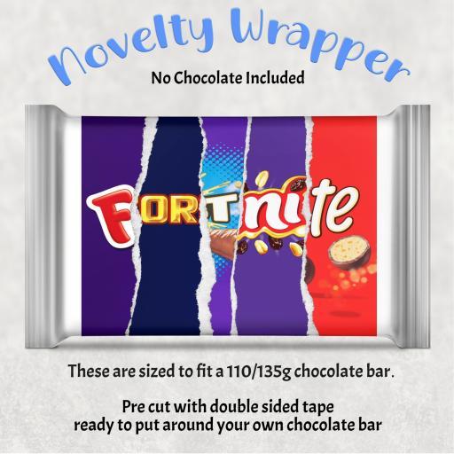Fortnite Chocolate Bar Wrapper