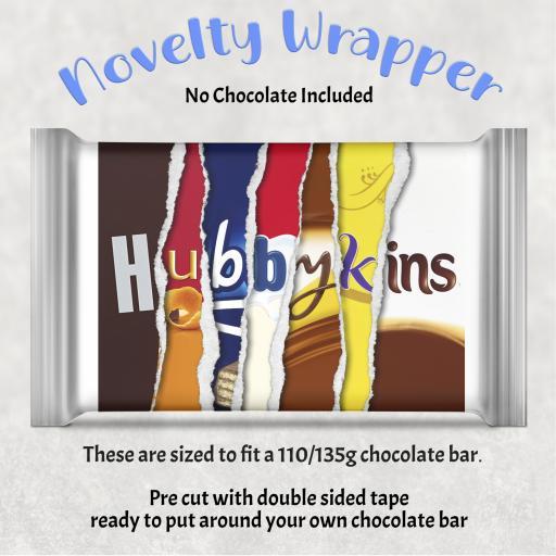 Hubbykins Chocolate Bar Wrapper
