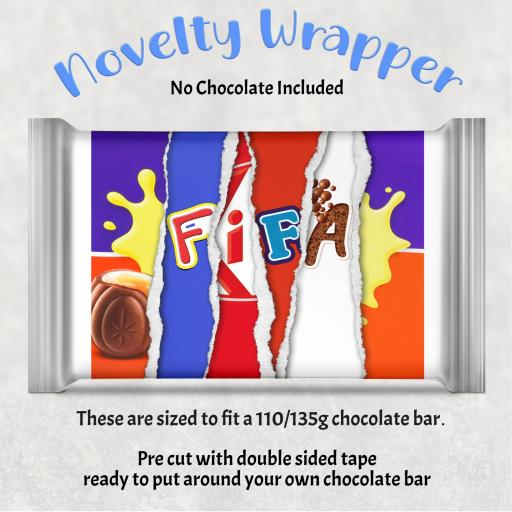 Fifa Chocolate Bar Wrapper