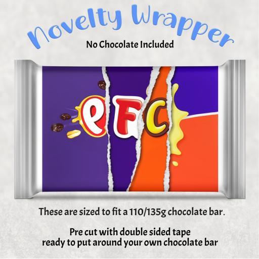 PFC Chocolate Bar Wrapper