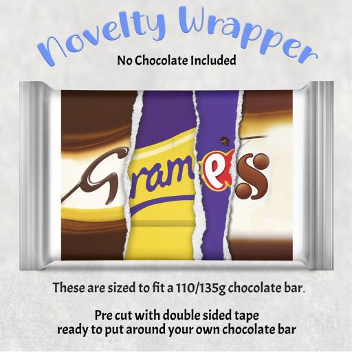 Gramps Chocolate Bar Wrapper