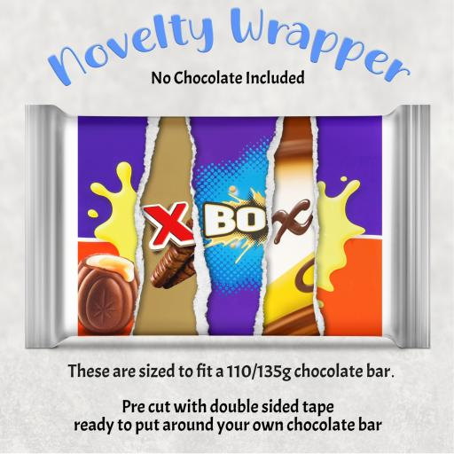 Xbox Chocolate Bar Wrapper