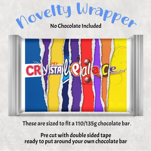 Crystal Palace Chocolate Bar Wrapper