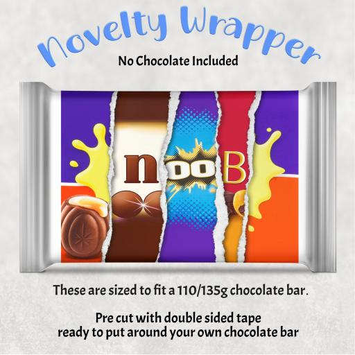 Noob Chocolate Bar Wrapper