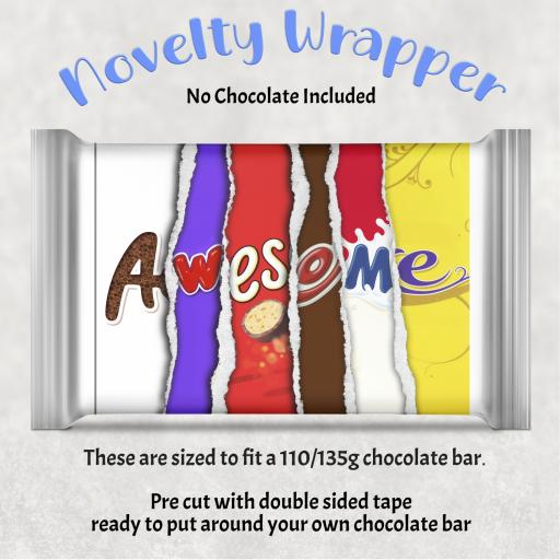 Awesome Chocolate Bar Wrapper