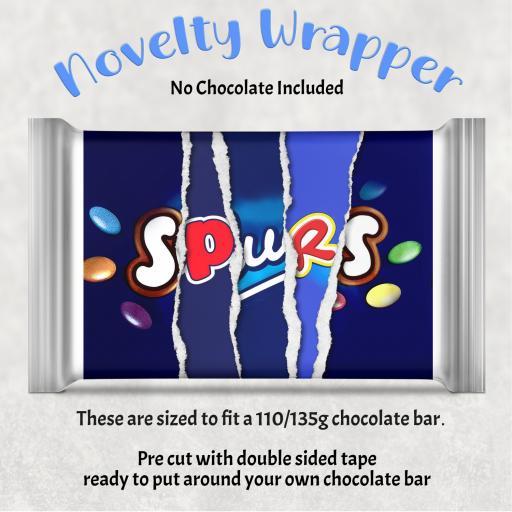 Spurs Chocolate Bar Wrapper