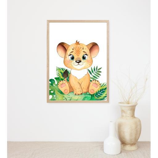 Tiger Baby Animal Print