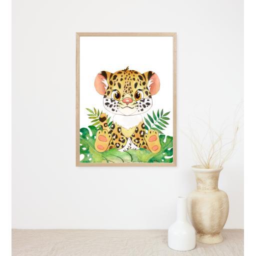 Leopard Baby Animal Print
