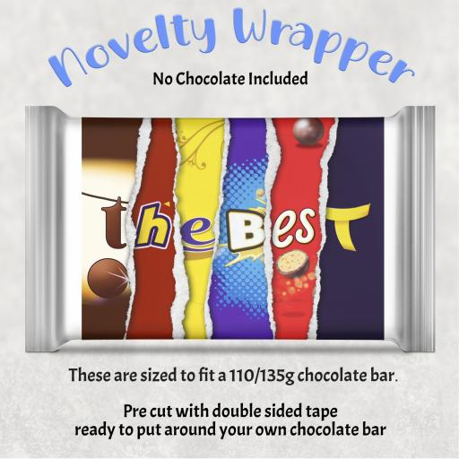 The Best Chocolate Bar Wrapper