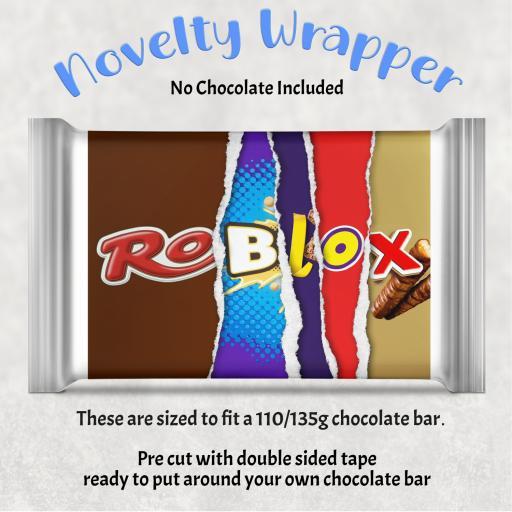 Roblox Chocolate Bar Wrapper