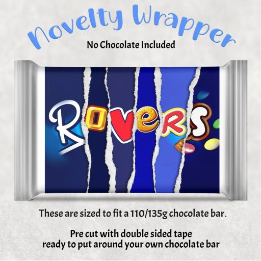 Rovers Chocolate Bar Wrapper