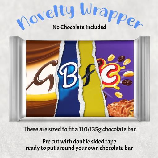 GBFC Chocolate Bar Wrapper