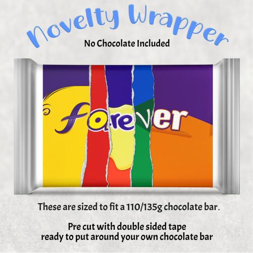 Forever Chocolate Bar Wrapper