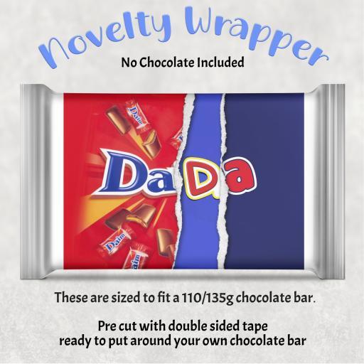 Dada Chocolate Bar Wrapper
