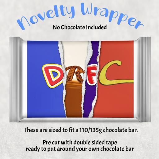 DRFC Chocolate Bar Wrapper