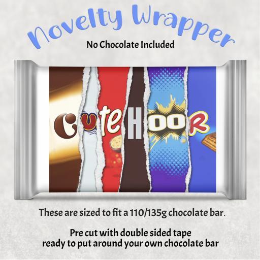 Cute Hoor Chocolate Bar Wrapper