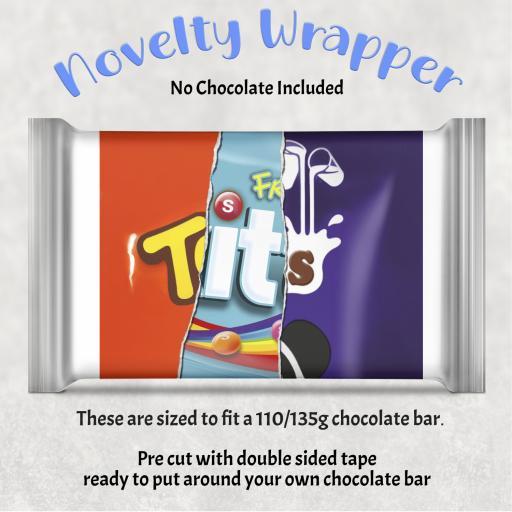 Tits Chocolate Bar Wrapper