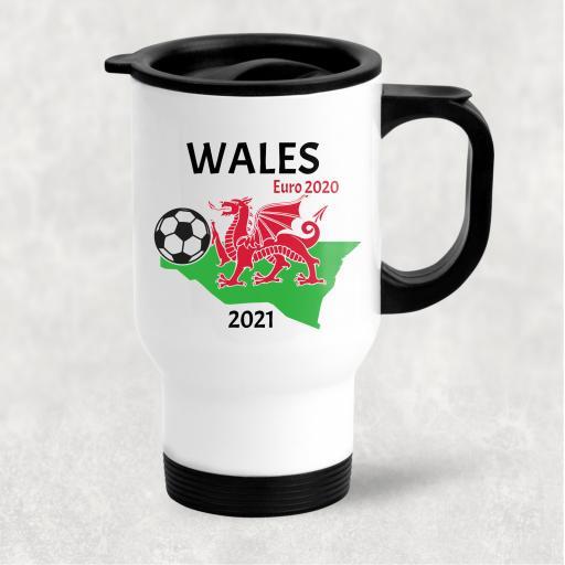 Wales Euro 2020 - 2021 Travel Mug