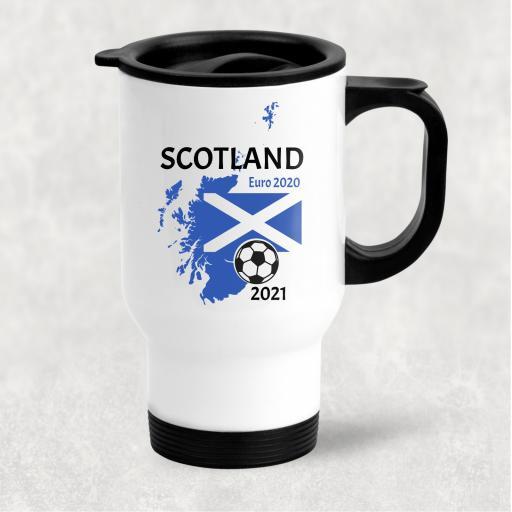 Scotland Euro 2020 - 2021 Travel Mug
