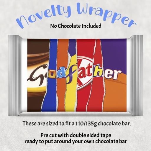 Godfather Chocolate Bar Wrapper