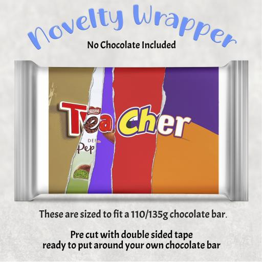 Teacher V2 Chocolate Bar Wrapper