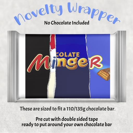 Minger Chocolate Bar Wrapper