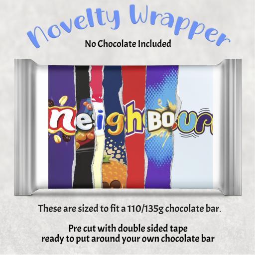 Neighbour Chocolate Bar Wrapper
