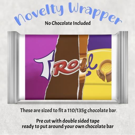 Troll Chocolate Bar Wrapper