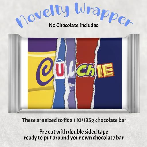 Culchie Chocolate Bar Wrapper