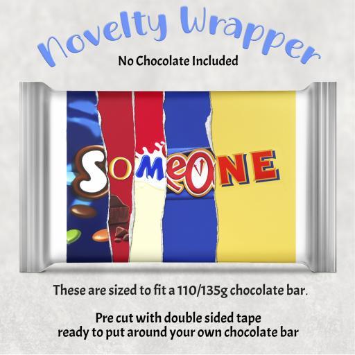 Someone Chocolate Bar Wrapper