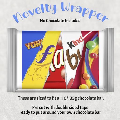 Fab Chocolate Bar Wrapper