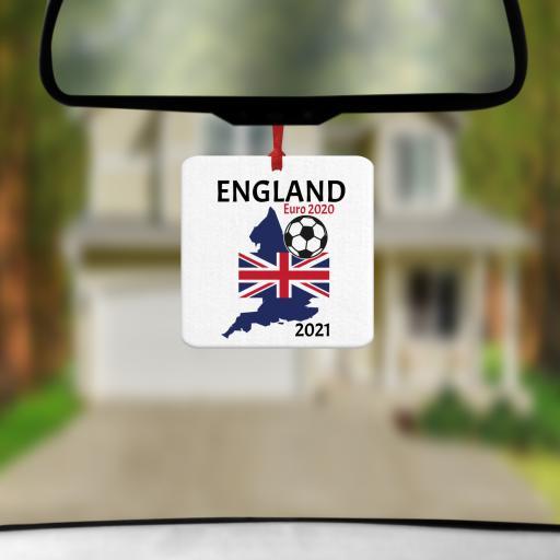 England Euro 2020 - 2021 Car Air Freshener