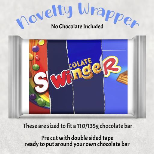 Swinger Chocolate Bar Wrapper
