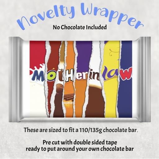 Mother in Law Chocolate Bar Wrapper