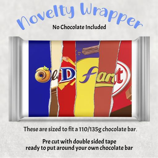 Old fart Chocolate Bar Wrapper
