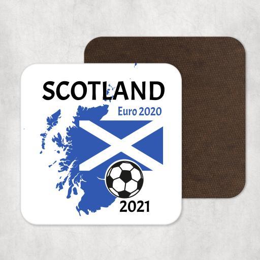 Scotland Euro 2020 - 2021 Coaster