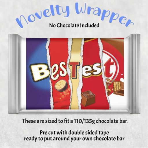 Bestest Chocolate Bar Wrapper