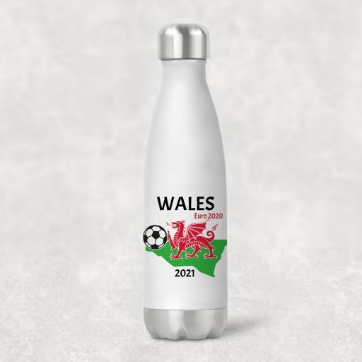 Wales Euro 2020 - 2021 Water Bottle